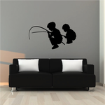 Fishing Wall Decal - Vinyl Decal - Car Decal - NS003