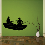 Fishing Lures Wall Decal - Vinyl Decal - Car Decal - 014