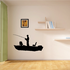Fishing Boat Wall Decal - Vinyl Decal - Car Decal - 021