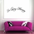 Custom In Memory Of Text Wall Decal - Vinyl Decal - Car Decal - DC018