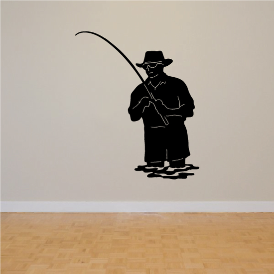 Fishing Lures Wall Decal - Vinyl Decal - Car Decal - 013