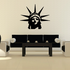 Statue of Liberty Head Decal