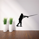 Fishing Boat Wall Decal - Vinyl Decal - Car Decal - 023