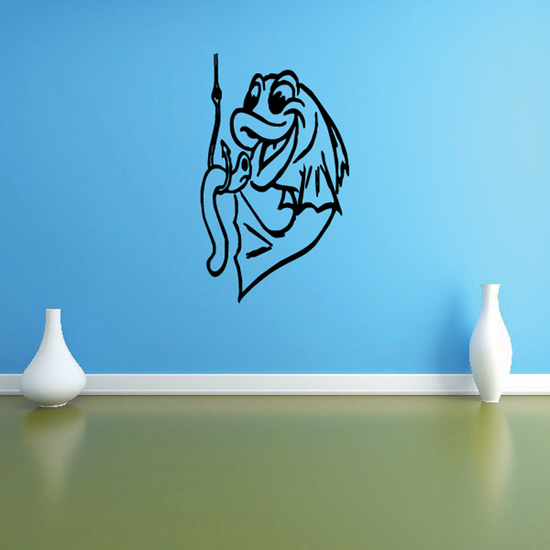 Fish Wall Decal - Vinyl Decal - Car Decal - DC687