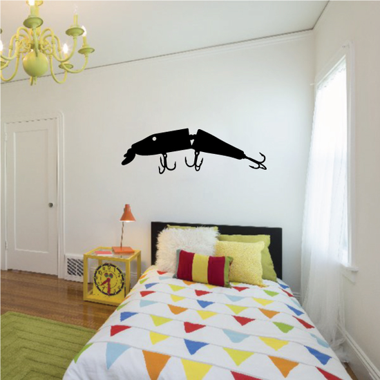 Fishing Lure Wall Decal - Vinyl Decal - Car Decal - NS012