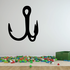 Fishing Hook Wall Decal - Vinyl Decal - Car Decal - NS003