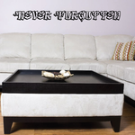 Never Forgotten In Loving Memory Wall Decal - Vinyl Decal - Car Decal - DC006