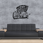 Detailed V-Twin Decal