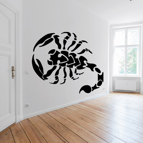 Tattoo Style Venomous Scorpion Decal