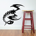 Elongated Wicked Scorpion Decal