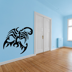 Toxic Abstract Scorpion Decal