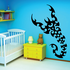 Fractal Style Scorpion Decal