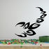 Swish Style Abstract Scorpion Decal