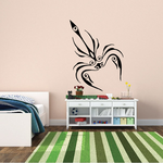 Wispy Abstract Scorpion Decal