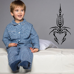 Symmetrical Abstract Scorpion Decal