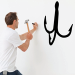 Fishing Hook Wall Decal - Vinyl Decal - Car Decal - NS007
