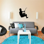 Fishing Wall Decal - Vinyl Decal - Car Decal - 006
