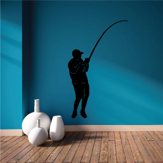 Fishing Lures Wall Decal - Vinyl Decal - Car Decal - 012