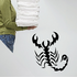 Sneaky Crawling Scorpion Decal
