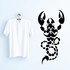 Rope Tail Scorpion Decal