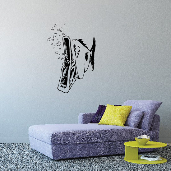 Fish Wall Decal - Vinyl Decal - Car Decal - DC072