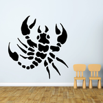 Bold Scorpion Turning Decal