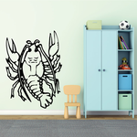Crawling Lobster Decal