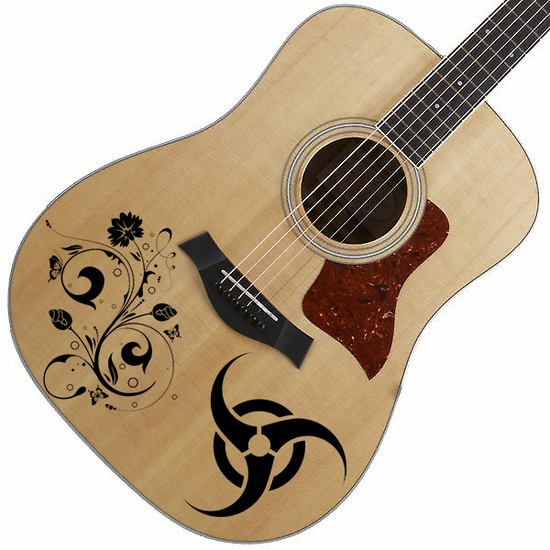 Customize your Guitar with Any Item number or custom image!