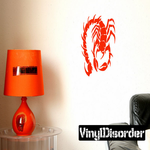 Spiky Tail Scorpion Decal