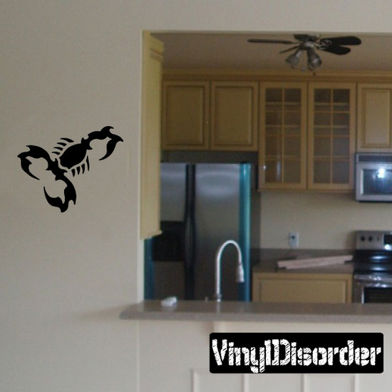 Wicked Scorpion Decal