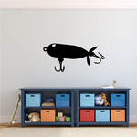 Fishing Lure Wall Decal - Vinyl Decal - Car Decal - NS011