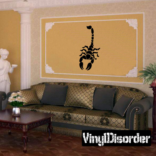 Offensive Scorpion Decal