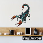 Deadly Scorpion Sticker