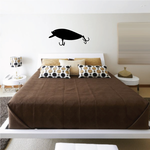 Fishing Lure Wall Decal - Vinyl Decal - Car Decal - NS023