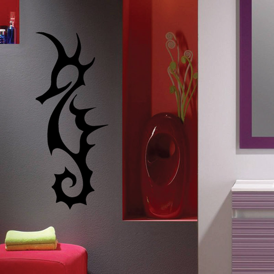 Seahorse Outline Decal