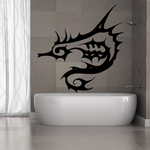 Spiny Seahorse Decal