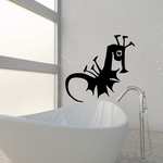 Kids Abstract Seahorse Decal