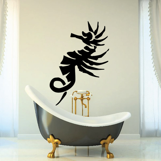 Peaceful Seahorse Decal