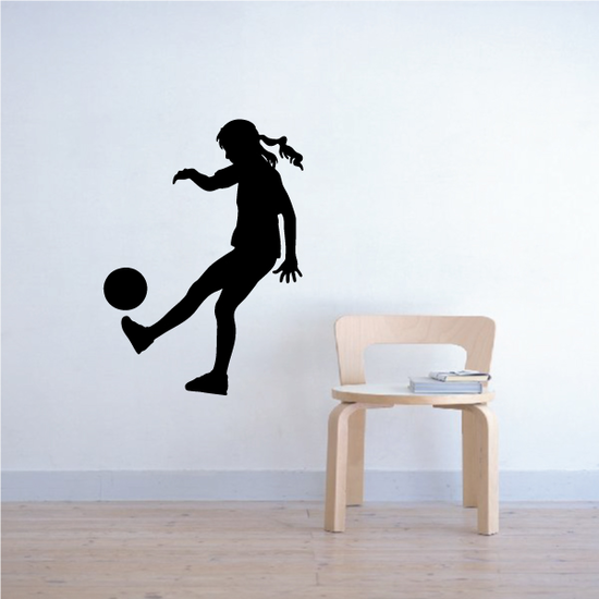 Soccer Wall Decal - Vinyl Decal - Car Decal - 144