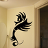 Abstract Flared Seahorse Decal