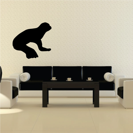 Seal Reclining Decal