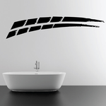 Racing Vehicle Pinstripe Vinyl Decal - Car Decal - Wall Decal - MC013