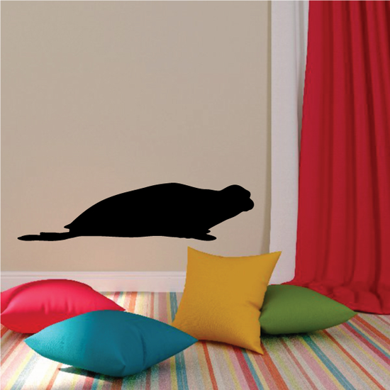 Lurking Seal Decal