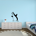 Peter the Penguin Decal