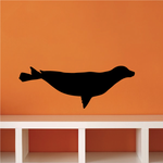 Gliding Seal Decal