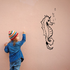 Kids Friendly Seahorse Decal