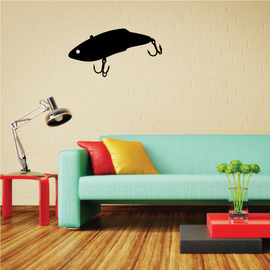 Fishing Lure Wall Decal - Vinyl Decal - Car Decal - NS062