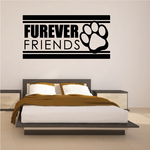 Furever Friends Wall Decal