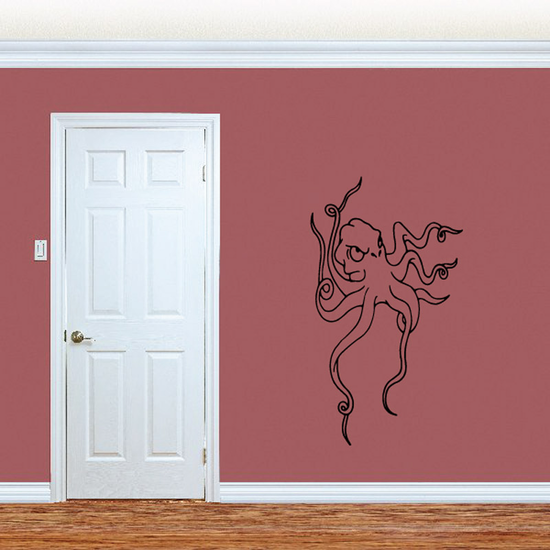 Hunting Octopus Decal