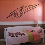 Racing Vehicle Pinstripe Vinyl Decal - Car Decal - Wall Decal - MC073
